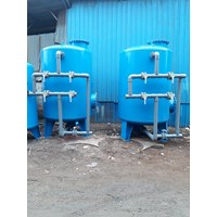 Sand filter dan carbon filter 3000L 1