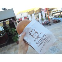 Paper Bag Food Grade Medium - Anti Minyak -  Untuk Perlengkapan Restoran Dan Kafe