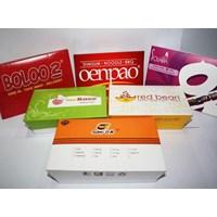 Lunch Box Paper Food Grade Size L Atau Kotak Makan Foodgrde