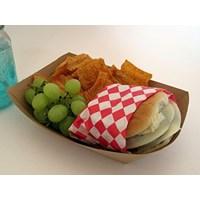 Beli Food Tray Paper Food Grade Atau Piring Kertas Makanan Siap Saji 4