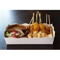 Distributor Food Tray Paper Food Grade Atau Piring Kertas Makanan Siap Saji 3