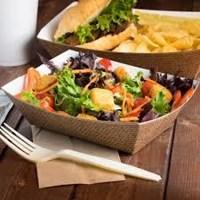 Beli Food Tray Paper Atau Tray Makanan Bahan Kertas Untuk Kemasan Makanan Siap Saji 4