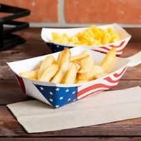 Food Tray Paper Atau Tray Makanan Bahan Kertas Untuk Kemasan Makanan Siap Saji