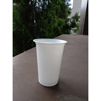 Gelas Plastik Warna Putih 16Oz 1