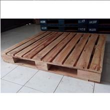 Pallet Kayu Mahoni 4 Way 120x100x15cm