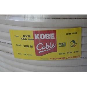 Dari Kabel listrik Kobe NYM 2x1.5 2x2.5 2x4 2x6 2x10 3x1.5 3x2.5 3x4 3x6 3x10 4x1.5 4x2.5 4x4 4x6 4x10 3