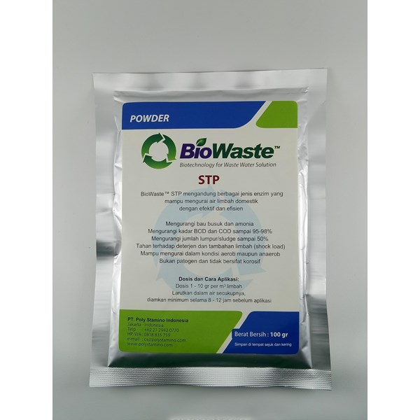 Bakteri Pengurai Limbah BioWaste STP 100 gram
