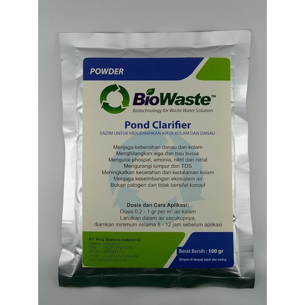 Bakteri Pengurai Limbah BioWaste Pond Clarifier 100 gram