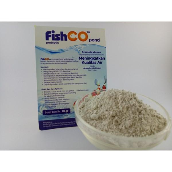 Probiotik untuk Ikan Hias Fishco Pond 10 gram