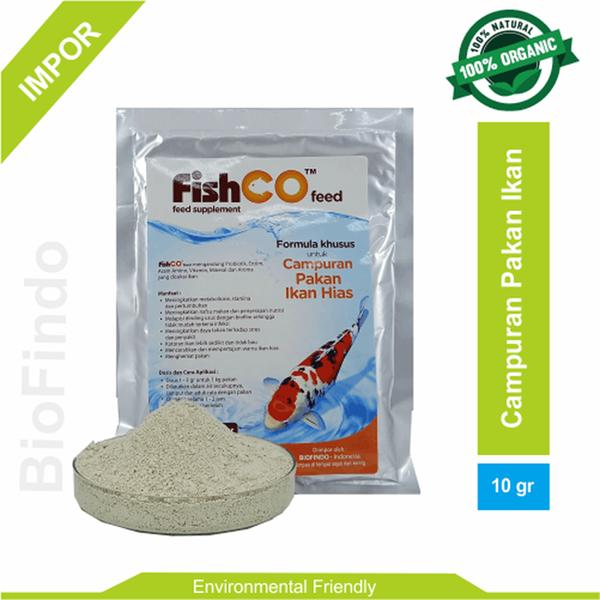 Supplemen Pakan Ikan Hias Fishco Feed 10 gram