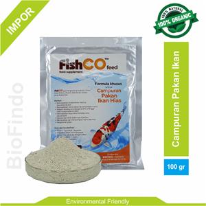 Supplemen Pakan Ikan Hias Fishco Feed 100 gram