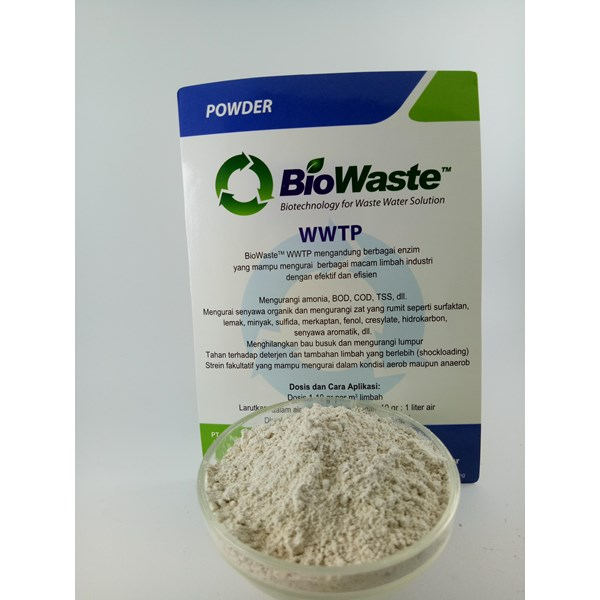 Biological Wastewater Treatment BioWaste WWTP 100 gram