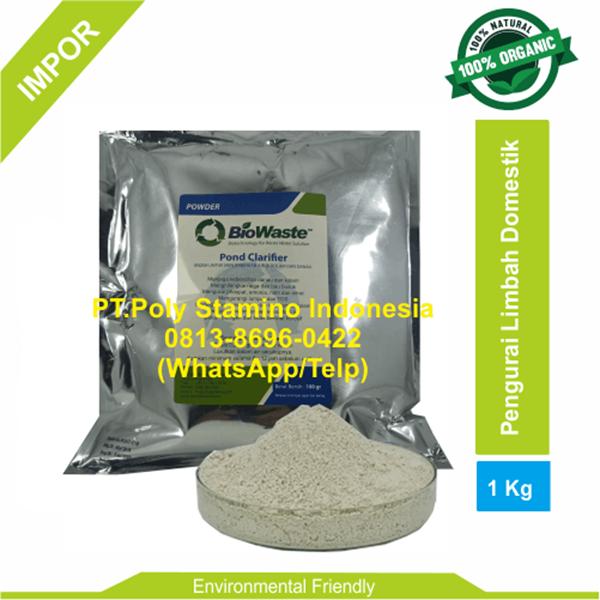 Biological Wastewater Treatment BioWaste POND CLARIFIER 1kg