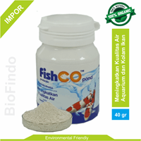 Pakan Ikan Fishco Pond botol 40 gram