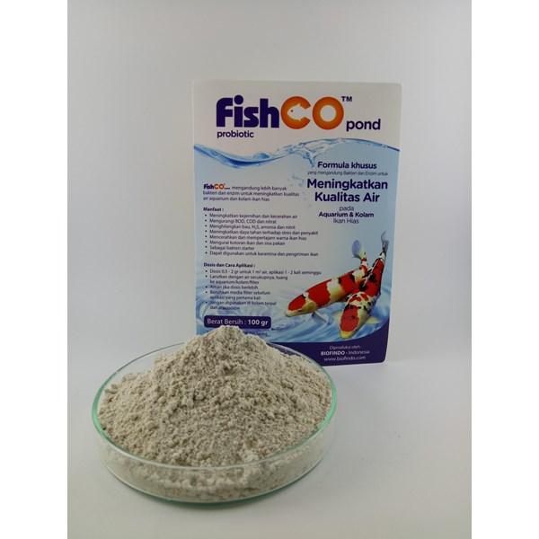 Pakan Ikan Fishco Pond 100 gram