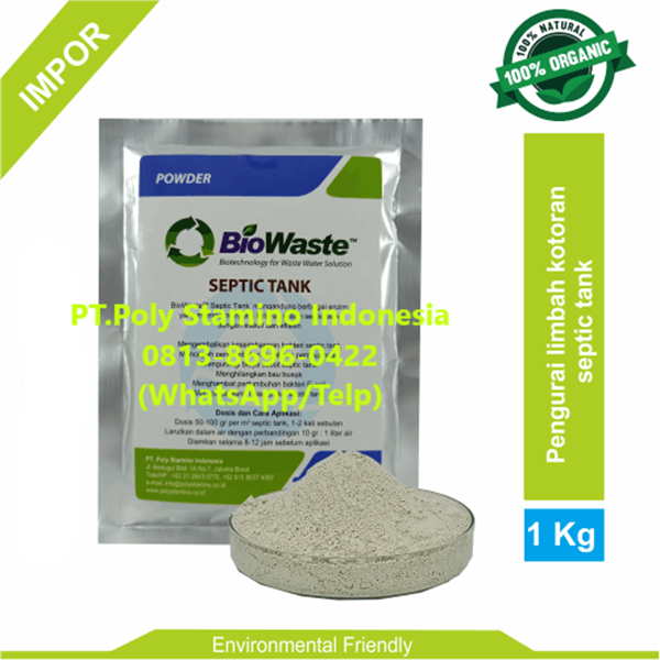 Solusi Air Limbah Biowaste Septic Tank 1 kg