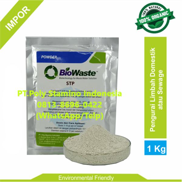 Solusi Air Limbah Biowaste STP 1 kg