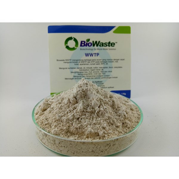 Solusi Air Limbah Biowaste WWTP 100 gram