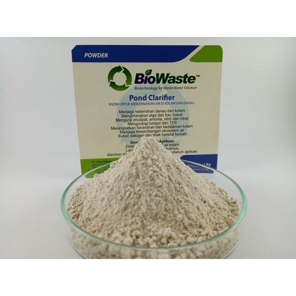 Solusi Air Limbah Biowaste Pond Clarifier 1kg