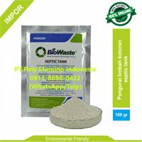 waste water treatment BIOWASTE SEPTIC TANK 100 gram