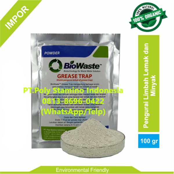 Bakteri IPAL Biowaste Grease Trap 100gram