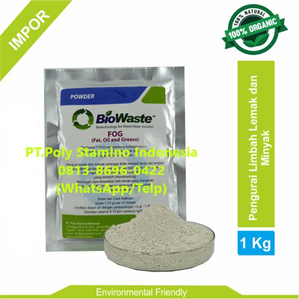 Bakteri IPAL Biowaste FOG