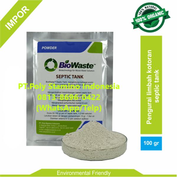 Bakteri IPAL Biowaste Septic Tank