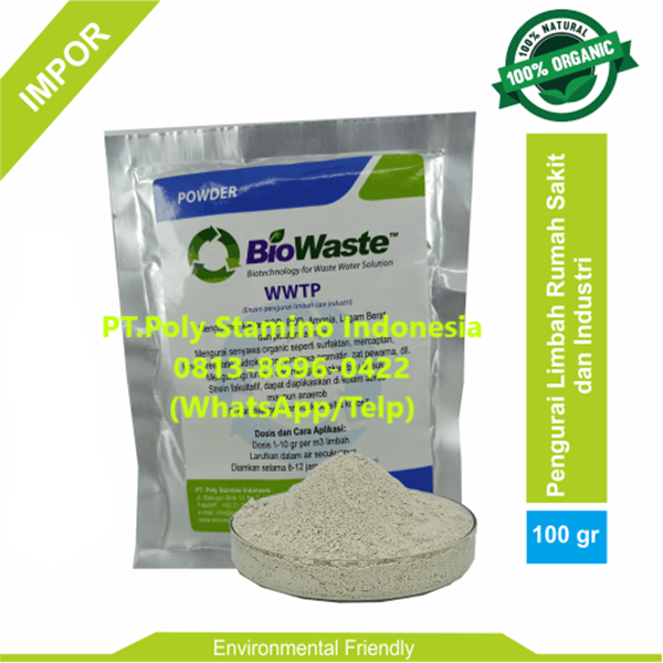 Bakteri IPAL Biowaste WWTP 100gram