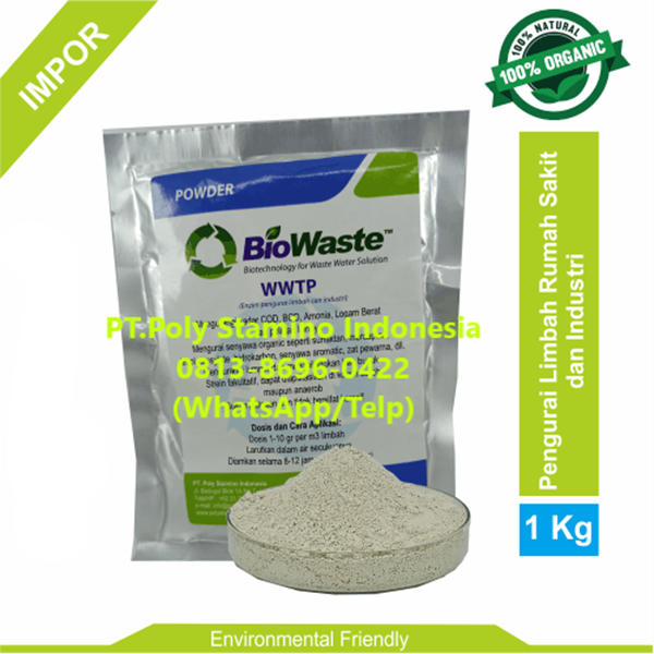 Bakteri IPAL Biowaste WWTP 1kg