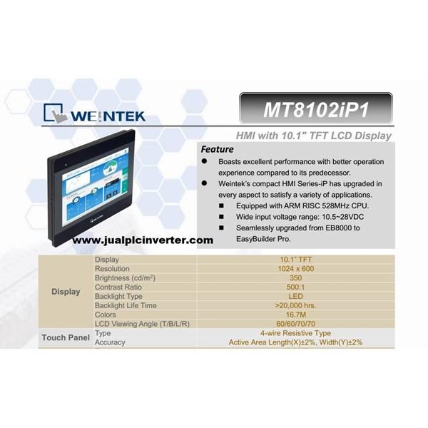 HMI weintek MT8102iP 10inch