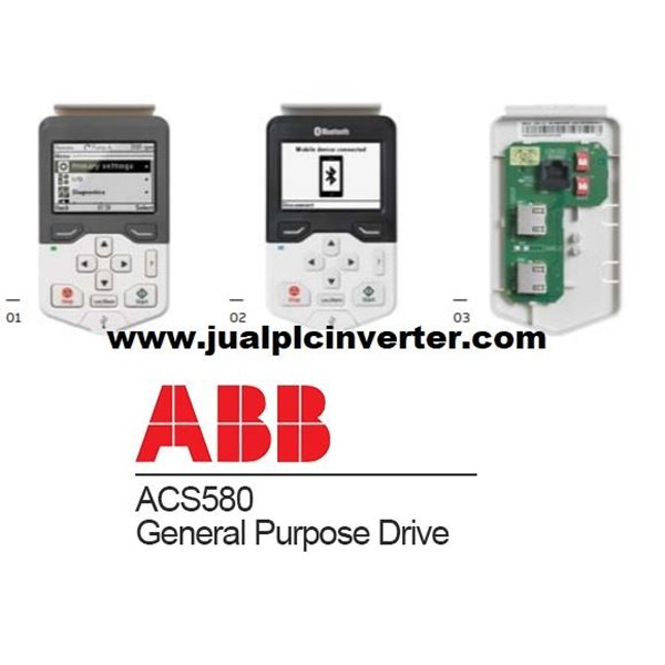 Inverter ABB 3phase 75KW ACS580