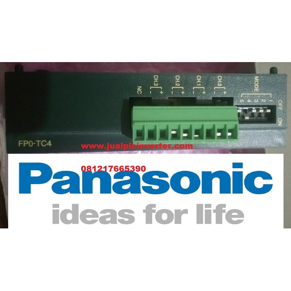 PLC Panasonic FPO-TC4