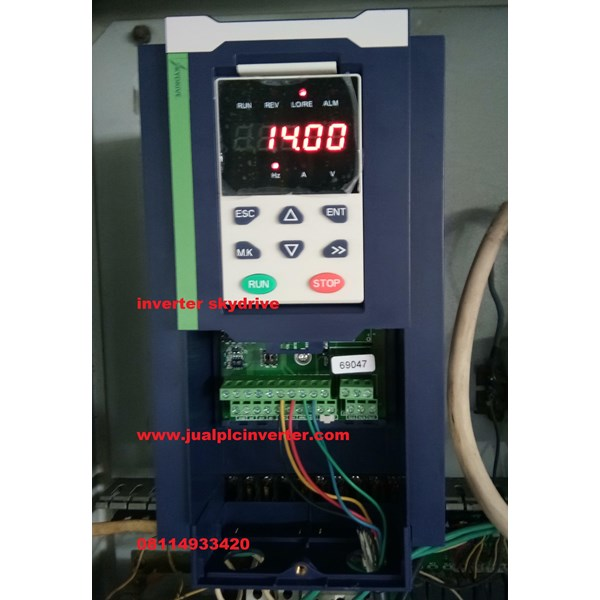 Inverter Listrik Skydrive 7.5KW 3phase 380V