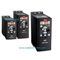 Jual Inverter Listrik Danfoss 3phase 2.2kw 3hp FC51 2