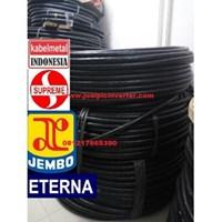 Kabel Listrik NYY Eterna 3x4 mmsq Hitam