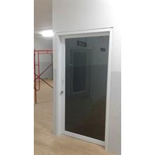 Pintu Sliding Aluminium Kaca