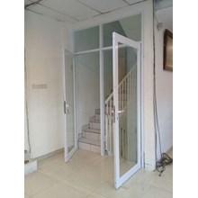 Pintu Aluminium Kaca Swing