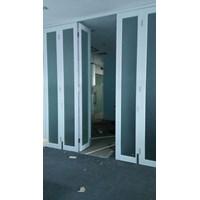 Jual Pintu Lipat Aluminium Kaca