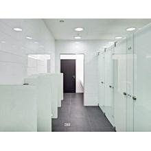 Kaca Cubicle Toilet