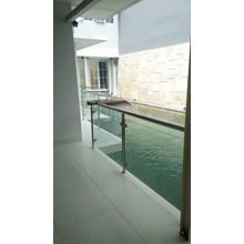 Kaca Railing Balkon