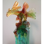 Eagle Statue Crystal Glass Souvenirs 3
