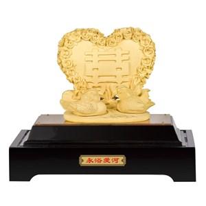 Souvenir Pernikahan Premium Lapisan Emas 24K