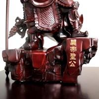 Beli Pajangan Patung Guan Yu Bahan Kayu  4