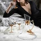 Gelas  Wine Gelas Set Cristal  2