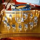 Gelas Set 12 Shio Bahan Kristal Souvenir Premium  2