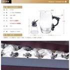 Gelas Set 12 Shio Bahan Kristal Souvenir Premium  3