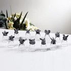 Gelas Set 12 Shio Bahan Kristal Souvenir Premium  1