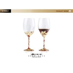 Gelas  Wine Gelas Set Kristal Diskon 20%