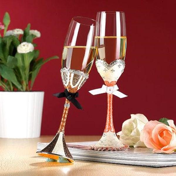 Gelas  Wine Gelas Pasangan Kristal