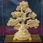 Pajangan Pohon Keberuntungan Lapisan Emas  2
